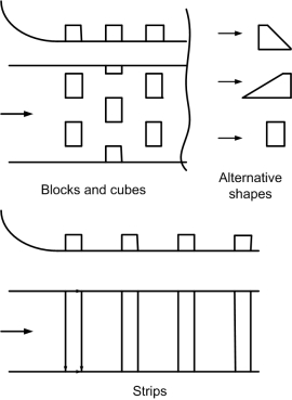 Blocks cubes etc